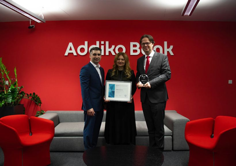 Addiko banka nagrađena za kvalitetno upravljanje zaposlenicima
