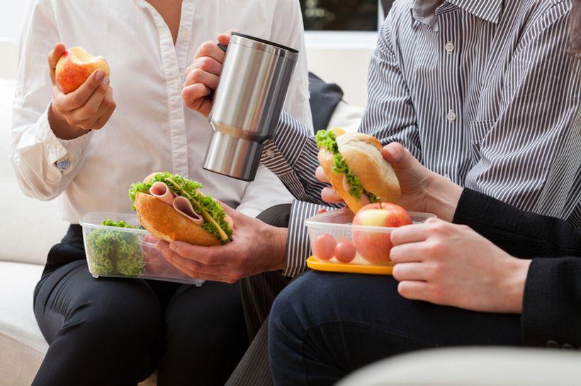 Kako jesti zdravo na poslu