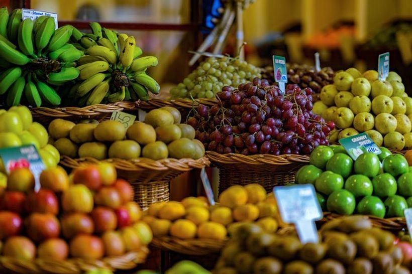 voće na tržnici