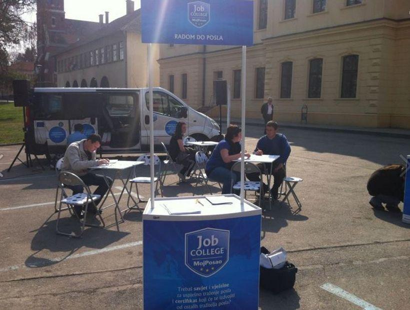Održana promotivna kampanja MojPosao Job College!