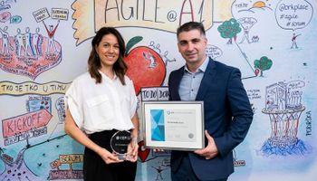 dodjela certifikata ''Partner Poslodavac'' predstavnicima tvrtke A1 Hrvatska