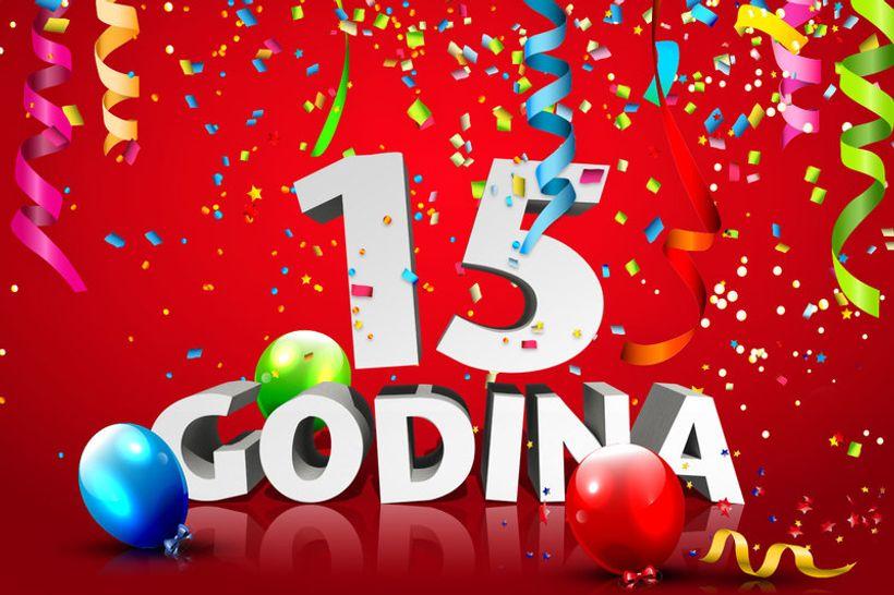 15 rođendan MojPosao.  MojPosao slavi 15. rođendan! 15 rođendan